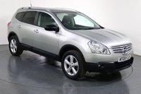 USED 2009 09 NISSAN QASHQAI+2 2.0 ACENTA PLUS 2 7 SEATER 5d 140 BHP ONE LADY OWNER with 9 Stamp FULL SERVICE HISTORY