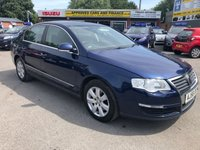 2006 VOLKSWAGEN PASSAT 2.0 TDI SE 4d 138 BHP IN BLUE 2 OWNERS SERVICE HISTORY CD PLAYER ABS GOOD CONDITION TRADE CLEARANCE  £1499.00