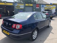 USED 2006 56 VOLKSWAGEN PASSAT 2.0 TDI SE 4d 138 BHP IN BLUE 2 OWNERS SERVICE HISTORY CD PLAYER ABS GOOD CONDITION TRADE CLEARANCE  APPROVED CARS AND FINANCE ARE PLEASED TO OFFER THIS  VOLKSWAGEN PASSAT 2.0 TDI SE 4d 138 BHP IN BLUE. GREAT SPEC INCLUDING ABS,POWER STEERING,CD PLAYER,ALLOY WHEELS,CLOTH INTERIOR,2 OWNERS,SERVICE HISTORY AND MUCH MORE. DUE TO THE AGE OF THIS VEHICLE WE ARE OFFERING THE CAR AS A PART EXCHANGE TO CLEAR. THERE IS A SMALL CRACK ON THE WINDSCREEN BUT OTHER THAN THAT AS YOU CAN SEE WE HAVE PRICED THIS CAR TO SELL