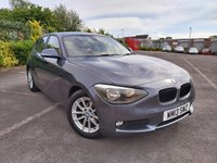 2013 BMW 1 SERIES 1.6 116D EFFICIENTDYNAMICS 5d £5350.00