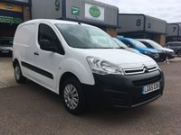 USED 2015 65 CITROEN BERLINGO 1.6 850 ENTERPRISE L1 HDI 1d 89 BHP FSH, A/C, B/TOOTH, P/SENSORS, FINANCE ARARNGED & 6 MONTHS WARRANTY. FSH, (4 Services - 3 Citroen services & a full service carried out on 22/07/19 @ 58,021), A/C, E/W, Bluetooth, parking sensors, 3 seats, touchscreen DAB radio, cruise control, facelift new shape model, DAB Radio, Steering Column Radio Control, Side Loading Door, Barn Rear Doors, spare key, finance arranged on site & 6 months premium Autoguard warranty.