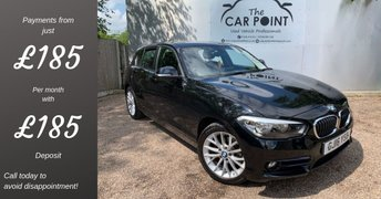 2016 BMW 1 SERIES 1.5 118I SPORT 5d 134 BHP £11995.00