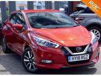 USED 2018 18 NISSAN MICRA 0.9 IG-T N-CONNECTA 5d 89 BHP