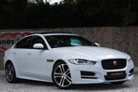 USED 2015 15 JAGUAR XE 2.0 R-SPORT 4d 180 PANORAMIC SUNROOF ** PANORAMIC ROOF ** HEATED STEERING WHEEL **