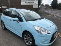 2010 CITROEN C3 1.4 EXCLUSIVE 5d 96 BHP £SOLD
