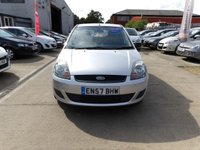 USED 2007 57 FORD FIESTA 1.2 STYLE CLIMATE 16V 5d 78 BHP NEW MOT, SERVICE & WARRANTY