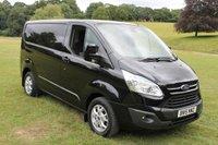 2015 FORD TRANSIT CUSTOM 270 LIMITED LR P/V 2.2 270 LIMITED LR P/V 1d 124 BHP £11000.00