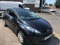 2012 FORD FIESTA 1.2 EDGE 3d 59 BHP £3695.00