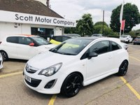 USED 2014 14 VAUXHALL CORSA 1.2 Limited Edition 3 door
