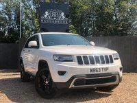 2013 JEEP GRAND CHEROKEE 3.0 V6 CRD LIMITED 5dr AUTO £14499.00