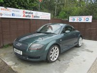 USED 2002 51 AUDI TT 1.8 QUATTRO 3d 221 BHP FINANCE AVAILABLE FROM £23 PER WEEK OVER TWO YEARS - SEE FINANCE LINK FOR DETAILS
