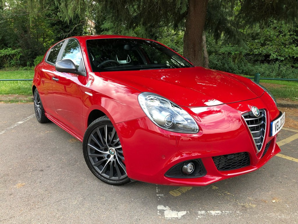 USED 2015 64 ALFA ROMEO GIULIETTA 1.7 TBI QUADRIFOGLIO VERDE TCT 5d AUTO 240 BHP ..VERY LOW MILEAGE..