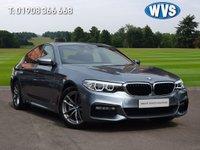 2018 BMW 5 SERIES 2.0 520I M SPORT 4d AUTO 181 BHP £24999.00