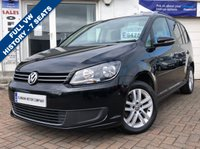 USED 2013 63 VOLKSWAGEN TOURAN 2.0 SE TDI BLUEMOTION TECHNOLOGY 5d 138 BHP SUPPLIED WITH 12 MONTHS MOT, LOVELY CAR TO DRIVE
