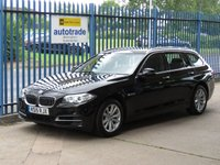2015 BMW 5 SERIES 2.0 525D SE TOURING 5d Auto Sat nav Heated seats Cruise Leather  £14000.00