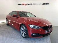 2017 BMW 4 SERIES 2.0 420D SPORT 2d AUTO 188 BHP £18995.00