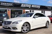 USED 2010 10 MERCEDES-BENZ E CLASS E250 CGI BLUEEFFICIENCY SPORT 2d AUTO 204 BHP