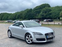 USED 2007 57 AUDI TT 2.0 TFSI 3d 200 BHP 2 X KEYS, ONE LADY OWNER, 12 MONTHS MOT JUST DONE, FULL SERVICE HISTORY, ALLOY WHEELS, REMOTE LOCKING, REAR SPOILER, FULL BLACK LEATHER, CLIMATE CONTROL, AIR-CONDITIONING, CD-PLAYER, BOSE, ELECTRIC WINDOWS AND MIRRORS