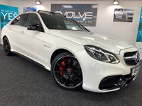 USED 2015 MERCEDES-BENZ E CLASS 5.5 E63 AMG S 4d AUTO 585 BHP IMMACULATE, F/S/H, 585 BHP
