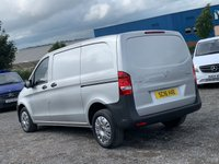 USED 2016 16 MERCEDES-BENZ VITO 1.6 109 CDI COMPACT FACELIFT RARE SILVER COMPACT, FACELIFT, 55K MILES, 1 OWNER, FDSH
