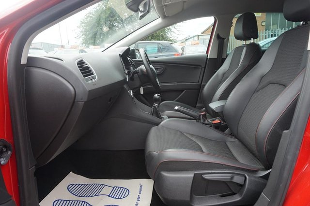 2015 Seat Leon 1 4 Tsi Fr Black Technology S S 5dr