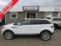USED 2012 62 LAND ROVER RANGE ROVER EVOQUE 2.2 SD4 PURE TECH 5DR DIESEL 190 BHP