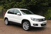 2013 VOLKSWAGEN TIGUAN 2.0 SE TDI BLUEMOTION TECHNOLOGY 4MOTION 5d 138 BHP £8350.00