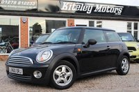USED 2010 60 MINI HATCH ONE 1.6 ONE PEPPER PACK AIR CON & BLUETOOTH