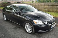USED 2006 06 LEXUS GS 3.5 450H SE-L 4d AUTO HYBRID 292 BHP SERVICE HISTORY, SATELLITE NAVIGATION, LEATHER SEATS, HEATED AND COOLING SEATS, VARIABLE CRUISE CONTROL, ELECTRIC SUNROOF