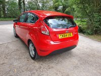 USED 2014 64 FORD FIESTA 1.2 ZETEC 5d 81 BHP ZERO DEPOSIT FINANCE AVAILABLE