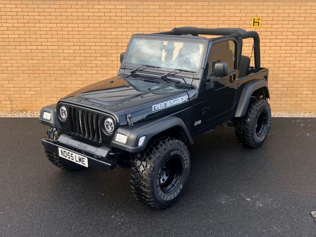 2005 55 JEEP WRANGLER RENEGADE LTD // 4.0L // 4x4 // Convertible // 174 BHP // LPG // px swap