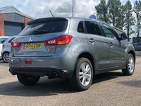 USED 2014 14 MITSUBISHI ASX 1.8 DI-D 3 5d 147 BHP 1 OWNER FROM NEW   PRIVACY GLASS +PARKING AID +17 INCH ALLOYS + CLIMATE CONTROL + MOT APRIL 2020 *