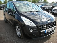 USED 2010 10 PEUGEOT 3008 1.6 SPORT HDI 5d 110 BHP FSH - 1 Previous owner