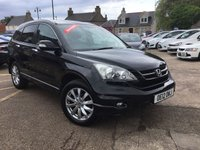 USED 2012 12 HONDA CR-V 2.2 I-DTEC EX 5d 148 BHP GREAT LOW MILEAGE EXAMPLE WITH FULL SERVICE HISTORY