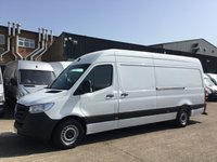 USED 2018 68 MERCEDES-BENZ SPRINTER 2.1 314CDI LWB HIGH ROOF 141BHP EURO 6. ONLY 12K MILES. PX ONLY 12K MILES. NEW SHAPE. MERC WARRANTY 10.2020. FINANCE. PX