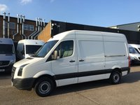 USED 2011 11 VOLKSWAGEN CRAFTER 2.5TDI CR35 LWB HIGH ROOF BLUE MOTION. LOW 110K. F/S/H. PX LOW 110K. FINANCE. FULL SERVICE HISTORY. PX WELCOME