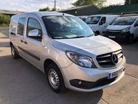 USED 2013 13 MERCEDES-BENZ CITAN 1.5 109 CDI BLUEEFFICIENCY DUALINER 90 BHP CREW VAN