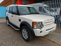 2009 LAND ROVER DISCOVERY 3 COMMERCIAL XS *AIR CON*SERVICE HISTORY* £9995.00
