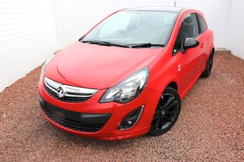2013 VAUXHALL CORSA 1.2 LIMITED EDITION 3d 83 BHP £6199.00