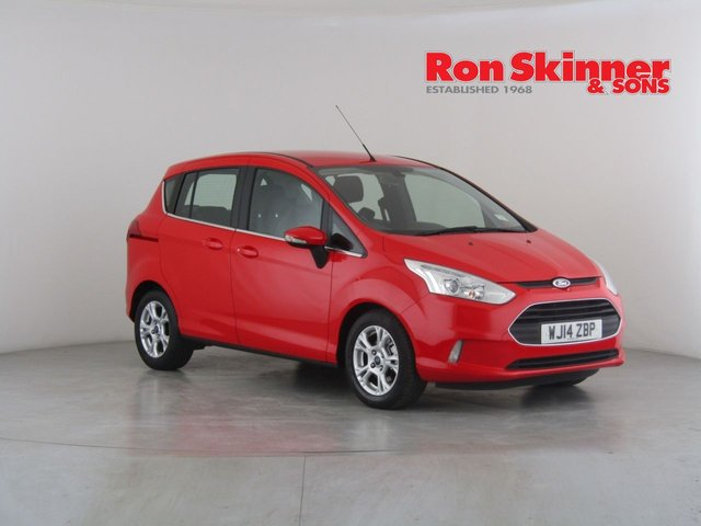 View our 2014 14 FORD B-MAX 1.5 ZETEC TDCI 5d 74 BHP