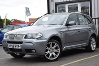 USED 2006 56 BMW X3 3.0 SD M SPORT 5d AUTO 282 BHP STUNNING CAR WITH HIGH SPEC & SAT NAV, MUST BE SEEN!