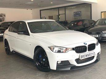 2013 BMW 3 SERIES 2.0 328I M SPORT 4d AUTO 242 BHP £15990.00