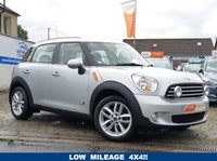 USED 2011 11 MINI COUNTRYMAN 1.6 COOPER D ALL4 5d 112 BHP AS ALWAYS ALL CARS FROM EDINBURGH CAR STORE COME WITH 1 YEARS FULL MOT ,1 FULL RAC INSPECTION SERVICE AND 6 MONTH RAC WARRANTY INCLUDING  12 MONTHS RAC BREAKDOWN RECOVERY FREE OF CHARGE!      PLEASE CALL IF YOU DONT SEE WHAT YOUR LOOKING FOR AND WE WILL CHECK OUR OTHER BRANCHES.  WE HAVE  OVER 100 CARS IN DEALER STOCK