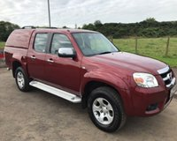 2009 MAZDA BT-50 2.5td  4X4 DOUBLE CAB NO VAT PICK UP TS2 141 BHP £6999.00