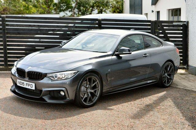 2015 15 BMW 4 SERIES 2.0 420D M SPORT 2d AUTO 190