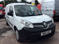 USED 2016 16 RENAULT KANGOO MAXI 1.5 LL21 BUSINESS DCI 90 BHP 1 OWNER FSH NEW MOT AIR CON MANUFACTURERS WARRANTY NEW MOT AIR CONDITIONING ROOF RACK SPARE KEY ELECTRIC WINDOWS AND MIRRORS BLUETOOTH TWIN SIDE LOADING DOORS EURO 5