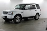2013 LAND ROVER DISCOVERY 3.0 4 SDV6 XS 5d AUTO 255 BHP £SOLD