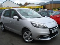 USED 2012 62 RENAULT SCENIC 1.5 DYNAMIQUE TOMTOM DCI 5d 110 BHP