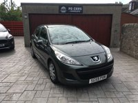 USED 2009 59 PEUGEOT 207 1.4 S 8V 5d 73 BHP 1 YR MOT+FSH+VERY LOW MILES+AIR CON