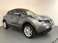 USED 2017 67 NISSAN JUKE 1.6 N-CONNECTA XTRONIC 5d AUTO 117 BHP FULL HISTORY - 1 OWNER - SAT NAV - PARKING CAMERA - AIR CON - BLUETOOTH  - DAB RADIO - CRUISE